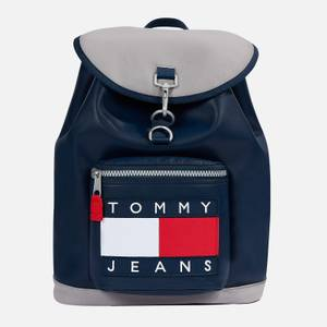 Tommy Jeans Men's Heritage Flap Backpack - Navy