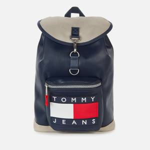 Tommy Jeans Men's Heritage Flap Backpack - Navy