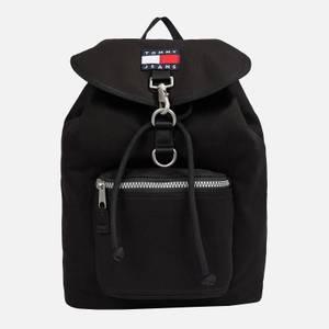 Tommy Jeans Men's Heritage Flap Backpack - Black