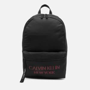 Calvin Klein Men's Campus NY Backpack - CK Black