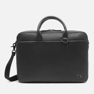 Calvin Klein Men's Laptop Bag - CK Black