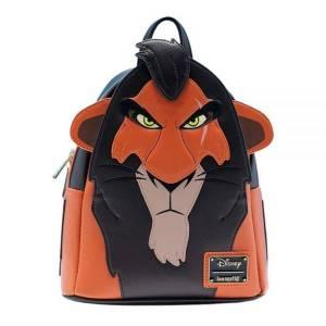 Loungefly Disney Mini Sac à Dos Scar Le Roi Lion