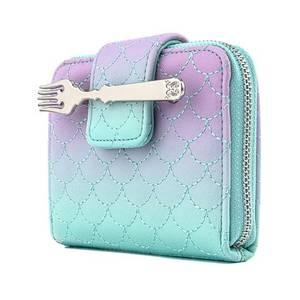 Loungefly Disney Little Mermaid Ombre Scales Zip Around Wallet