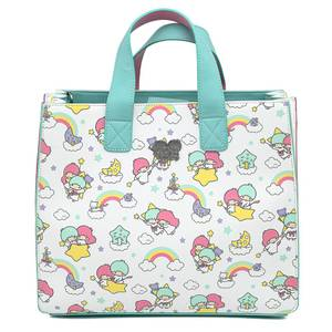 Loungefly Sanrio Little Twin Stars Rainbow Aop Crossbody Bag