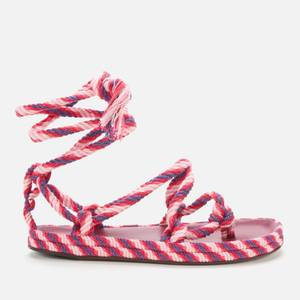 Isabel Marant Women's Erol Rope Sandals - Pink