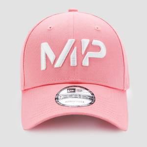 MP NEW ERA 9FORTY Baseball Cap - Geranium Pink/White