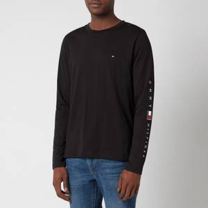 Tommy Hilfiger Men's Essential Long Sleeve T-Shirt - Black