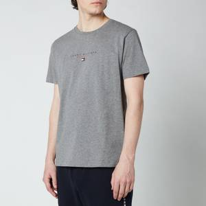 Tommy Hilfiger Men's Essential Chest Logo T-Shirt - Medium Grey Heather