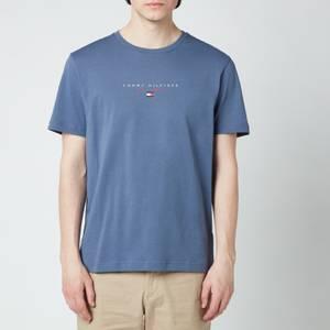 Tommy Hilfiger Men's Essential Chest Logo T-Shirt - Faded Indigo
