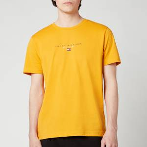 Tommy Hilfiger Men's Essential Chest Logo T-Shirt - Courtside Yellow