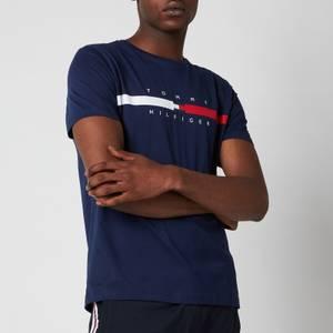 Tommy Hilfiger Men's Global Chest Stripe T-Shirt - Yale Navy
