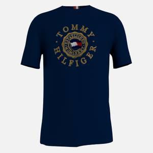 Tommy Hilfiger Men's Icon Coin T-Shirt - Desert Sky