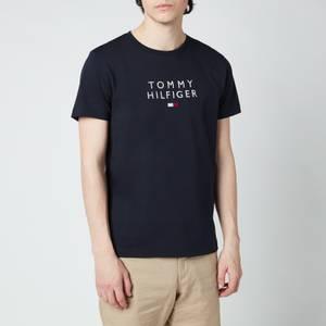 Tommy Hilfiger Men's Stacked Flag T-Shirt - Desert Sky