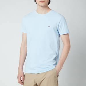 Tommy Hilfiger Men's Stretch Slim Fit T-Shirt - Sweet Blue