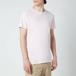 Tommy Hilfiger Men's Stretch Slim Fit T-Shirt - Light Pink