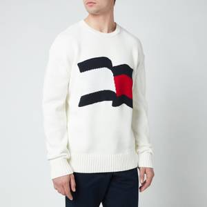 Tommy Hilfiger Men's Big Graphic Sweatshirt - Ivory