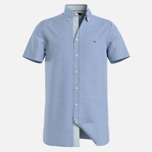 Tommy Hilfiger Men's Slim Fit Twill Shirt - Copenhagen Blue