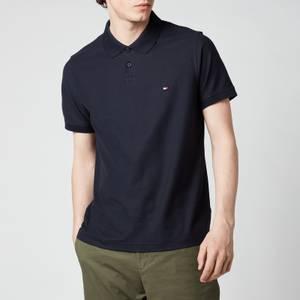 Tommy Hilfiger Men's 1985 Contrast Placket Slim Fit Polo Shirt - Desert Sky