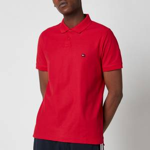 Tommy Hilfiger Men's 1985 Contrast Placket Slim Fit Polo Shirt - Primary Red