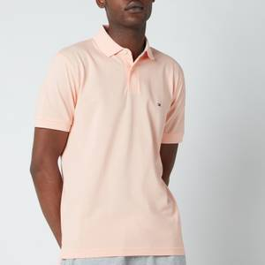 Tommy Hilfiger Men's 1985 Regular Fit Polo Shirt - Delicate Peach