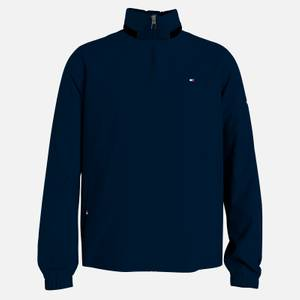 Tommy Hilfiger Men's Stand Collar Jacket - Desert Sky