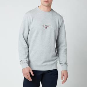 Tommy Hilfiger Men's Essential Crewneck Sweatshirt - Medium Grey Heather