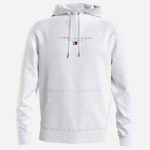 Tommy Hilfiger Men's Essential Pullover Hoodie - White