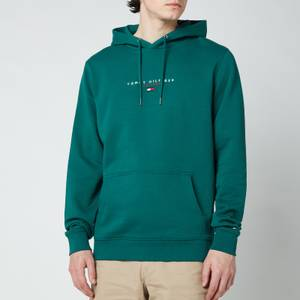 Tommy Hilfiger Men's Essential Pullover Hoodie - Rural Green