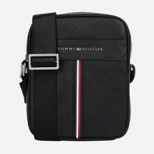 Tommy Hilfiger Men's Downtown Mini Reporter Bag - Black