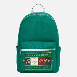 Tommy Hilfiger Men's Signature Flag Backpack - Rural Green