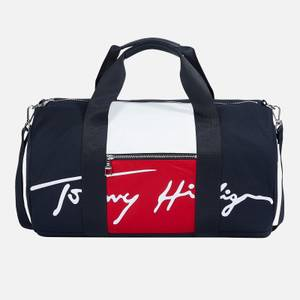 Tommy Hilfiger Men's Signature Duffle Bag - Desert Sky