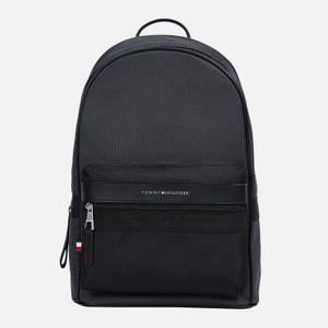 Tommy Hilfiger Men's Elevated Nylon Backpack - Black