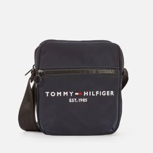 Tommy Hilfiger Men's Established Mini Reporter Bag - Desert Sky