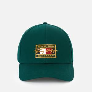 Tommy Hilfiger Men's Patch Signature Cap - Rural Green