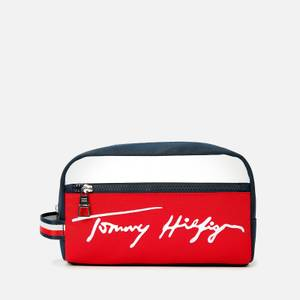 Tommy Hilfiger Men's Signature Washbag - Desert Sky