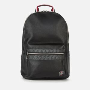 Tommy Hilfiger Men's Monogram Backpack - Black