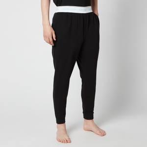 Calvin Klein Men's Contrast Waistband Joggers - Black