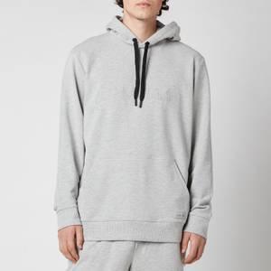 Calvin Klein Men's Pullover Chest Logo Hoodie - Grey Heather