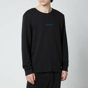 Calvin Klein Men's Chest Logo Sweatshirt - Black