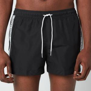 Calvin Klein Men's Drawstring Swim Shorts - PVH Black