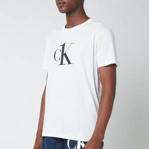 Calvin Klein Men's Relaxed Crewneck T-Shirt - PVH Classic White