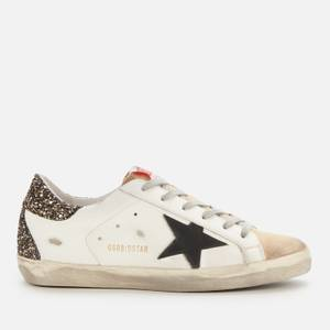 Golden Goose Deluxe Brand Women's Superstar Leather Trainers - Cappuccino/White/Black