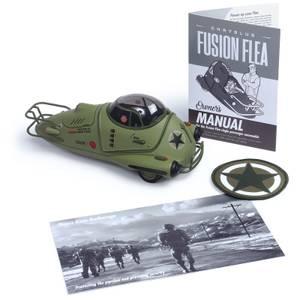 Réplique Die Cast en Édition Limitée de Fallout Military Fusion Flea - Exclusivité Zavvi