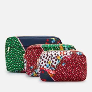 Ted Baker Women's Celdaa Peppermint Triple Wash Bag - Navy