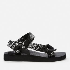 Arizona Love Women's Trekky Platform Sandals - Black Bandana