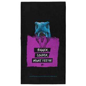 Jurassic Park Bigger Louder More Teeth - Fitness Towel