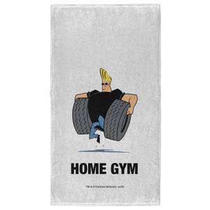Johnny Bravo Home Gym - Fitness Towel