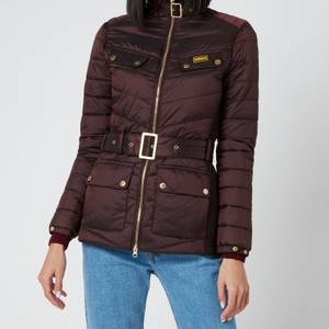 Barbour International Women's Gleann Quilt Coat - Cocoa