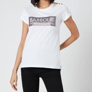 Barbour International Women's Burnout T-Shirt - White