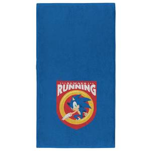 Sonic The Hedgehog Always Running - Fitness Towel